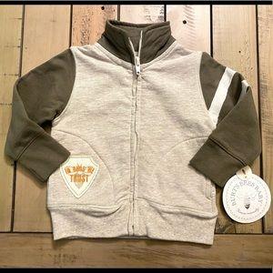 Burt's Bees NEW Baby Boy Jacket Sz 3-6 Months